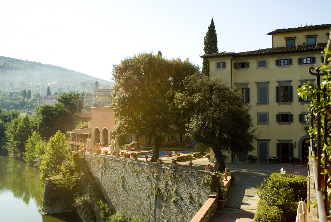 1525 erbaut – die Villa Nobile