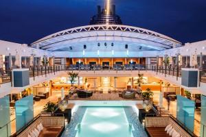 Die Luxusreise mit Thomas Rath geht von  Barcelona über Calvi, St.- Tropez und Port  Grimaud, Monte-Carlo, Portofino und  Viareggio nach Civitavecchia