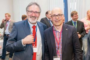 Gastgeber Hartmut Winkelmann und Ministerpräsident Torsten Albig