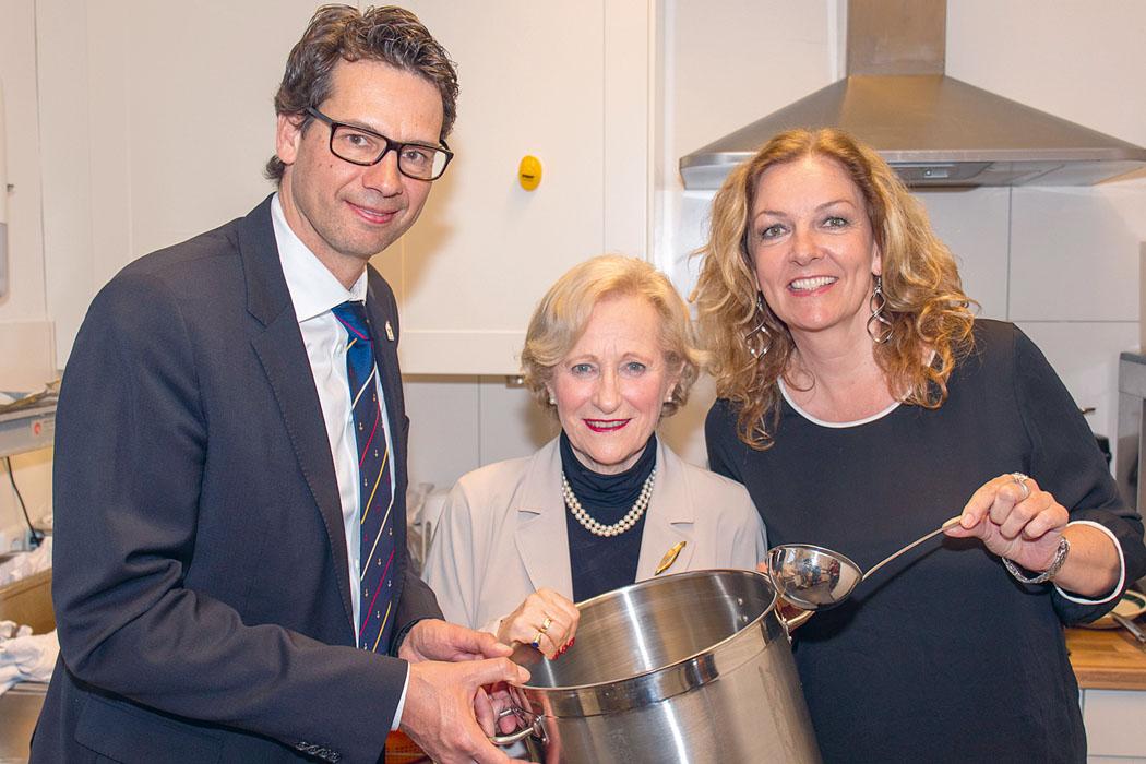 Adrian Köster, Angelika Volquartz und Bettina Tietjen