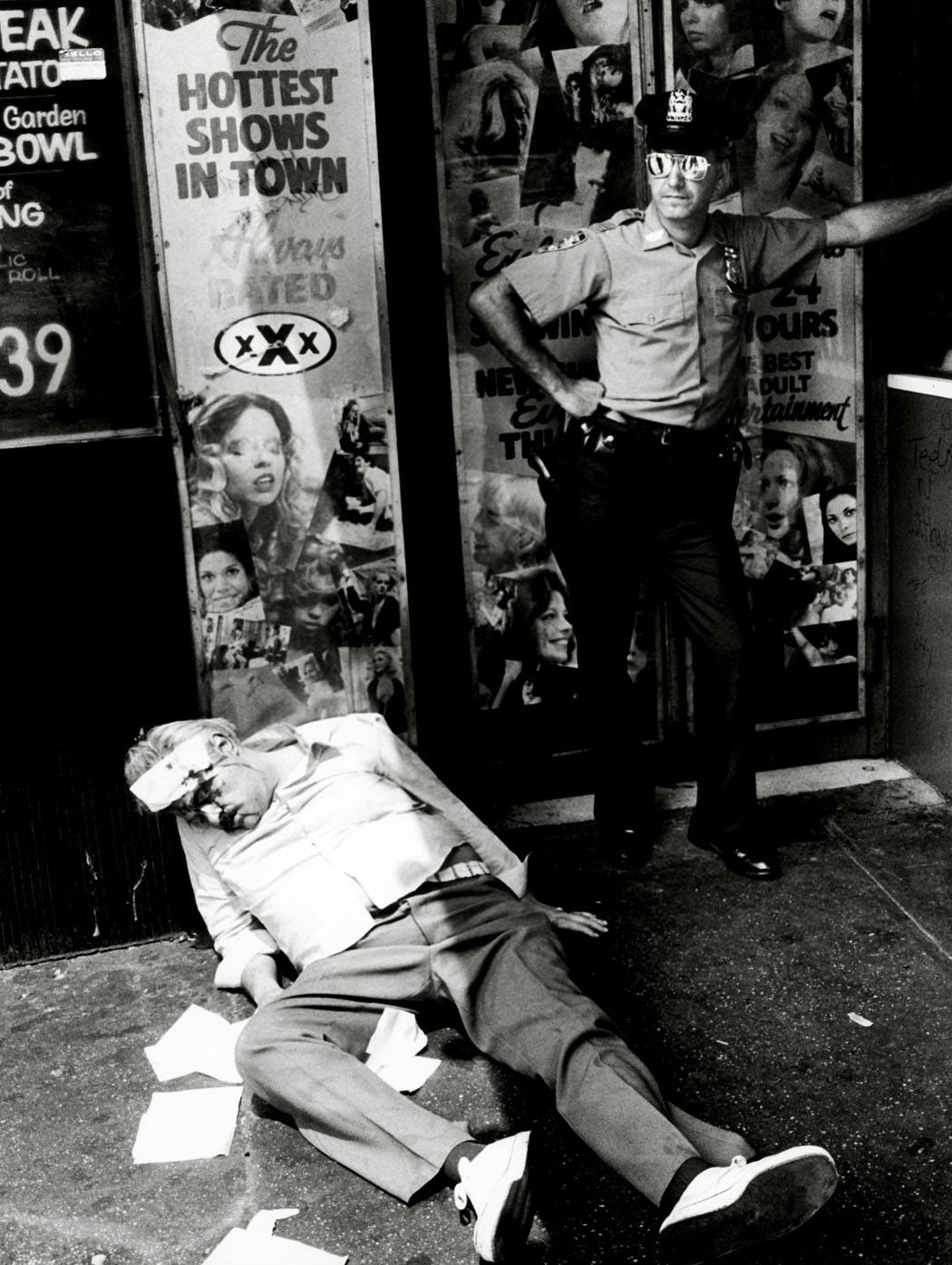 Miron Zownir, New York City, 1982.