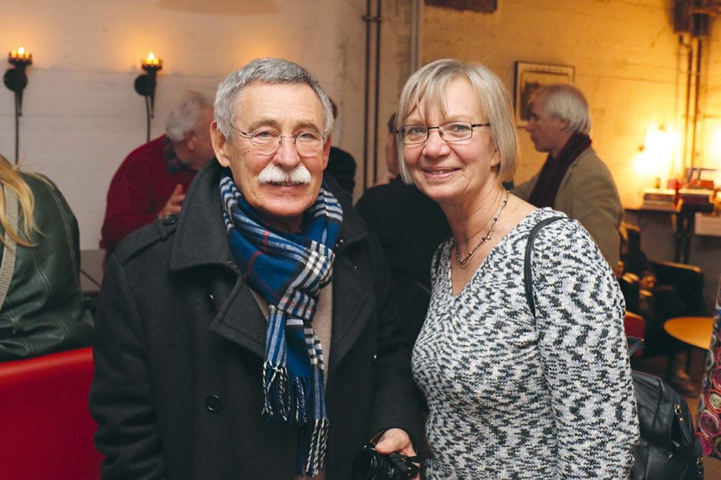 Dr. Bernd Bünsche und Heidemarie Goerigk