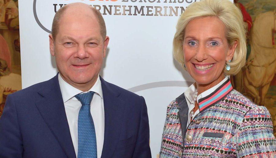 Olaf Scholz zu Gast beim Club europäischer Unternehmerinnen