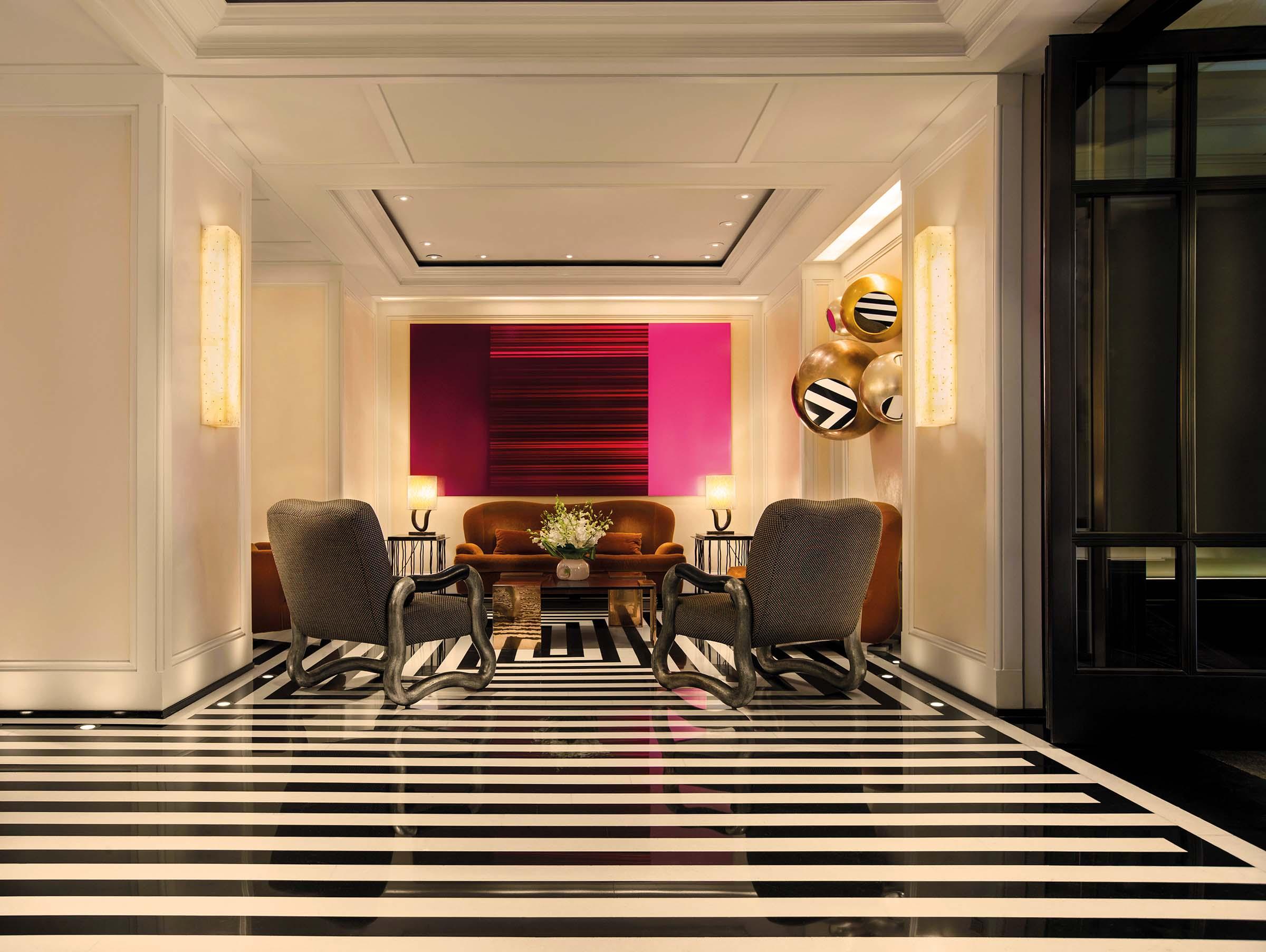 The Mark Hotel – Lobby Sitting Area
