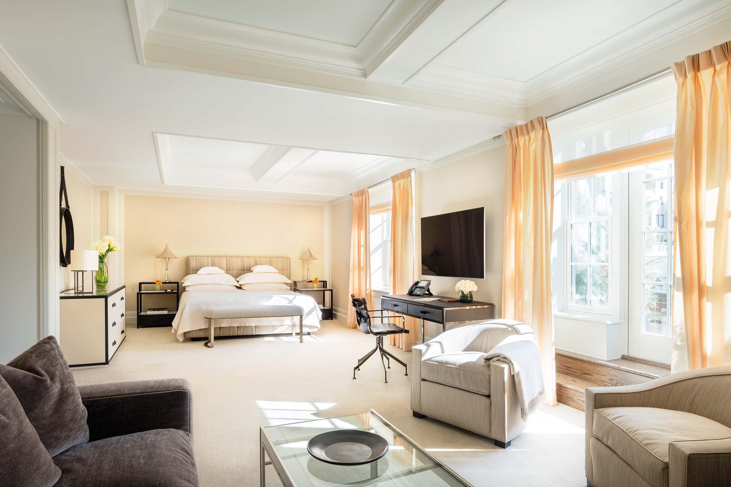 Mark Five Bedroom Terrace Suite Master Bedroom