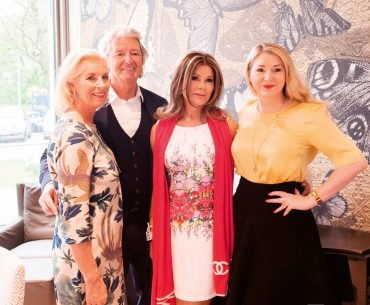 Ladys Lunch 2017_Sabina und Wilko Schwitters, Birgitt Nilsson, Sandra Quadflieg_Foto Helen Fischer
