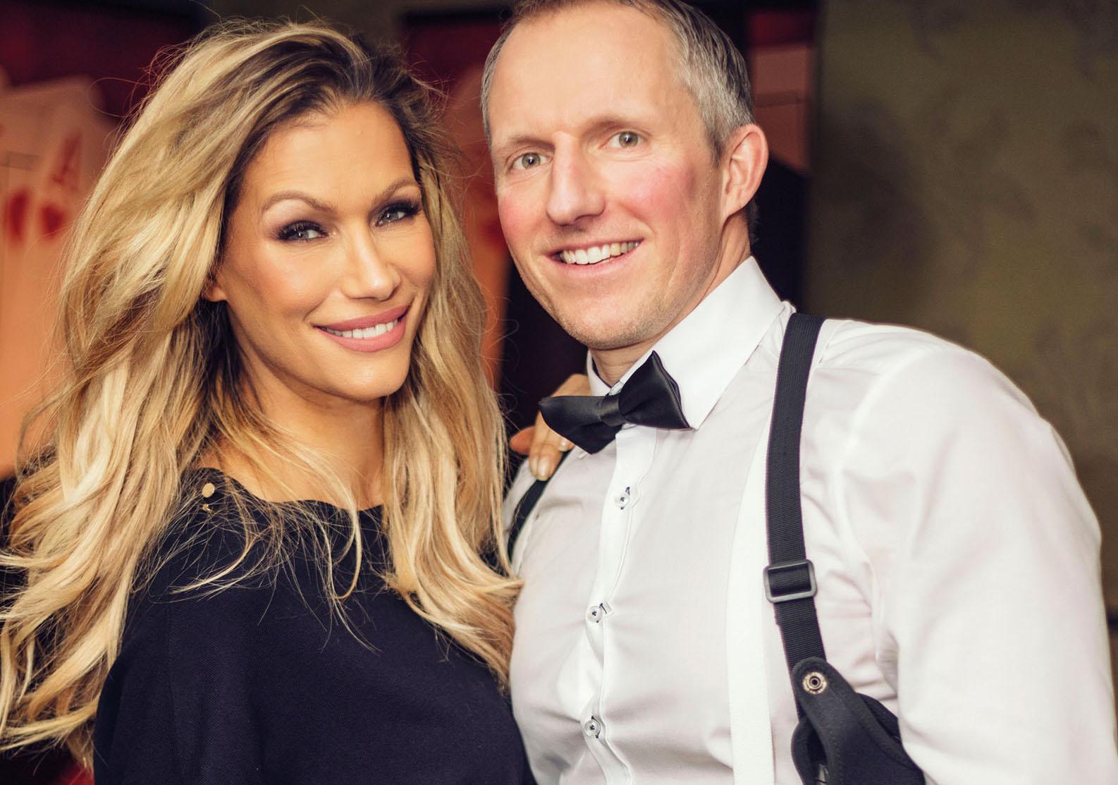 'Im Auftrag ihrer Majestät': Yasmina Filali und Aspria General Manager Tobias Gross