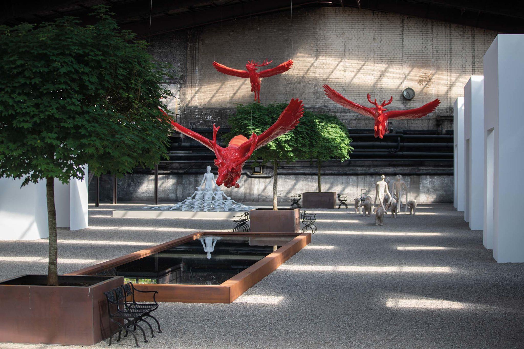 Bilder, Fotografien, Skulpturen und Installationen NordArt 2019 mit Werken von mehr als 200 Künstlern aus aller Welt