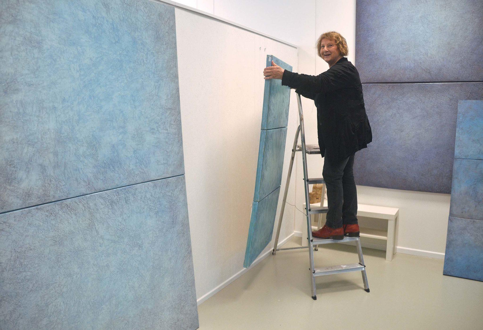 Sabine Bovensiepen im Atelier